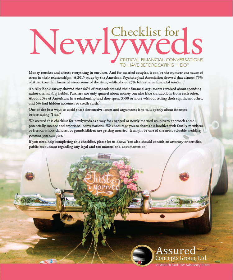 Newlyweds Checklist whitepaper assured concepts group